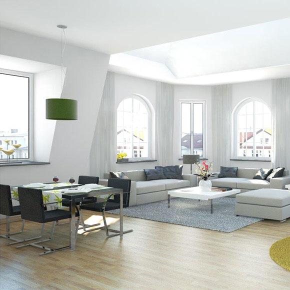 IP Muenchen moderne Wohnung Innenansicht Einrichtung