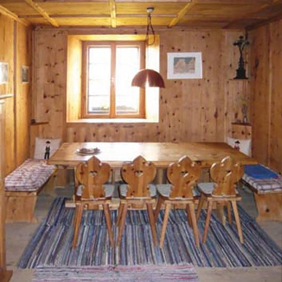 IP Muenchen Haus Suedtirol Holzstube